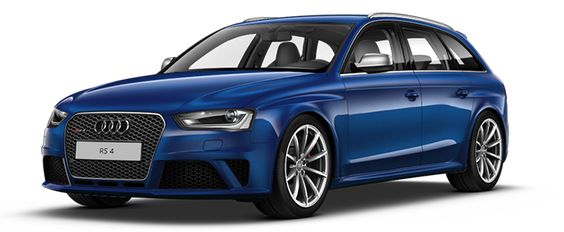 Audi RS 4 Avant - to park in my dream house's garage...maybe in white though?