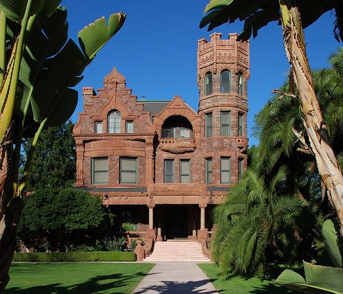 Beautiful Homes In Los Angeles: Stimson Residence Historic-Cultural Monument No. 212 Is