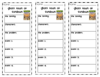 Great resource for everything! Is for Grade 1, but these comprehension bookmarks could be remade for any of our Grade 4 books, or could have a generic one that could work for each genre.  Start making soon...ish :)