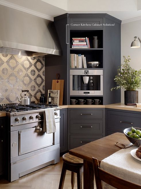 Love This Brilliant Solution To The Corner Cabinet Dilemma