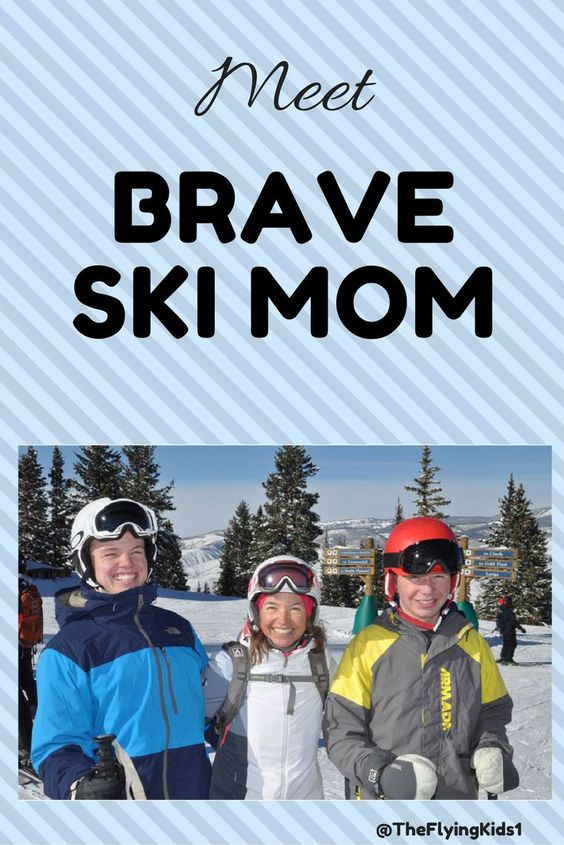 Interview with Kristen Lummis - aka Brave Ski Mom