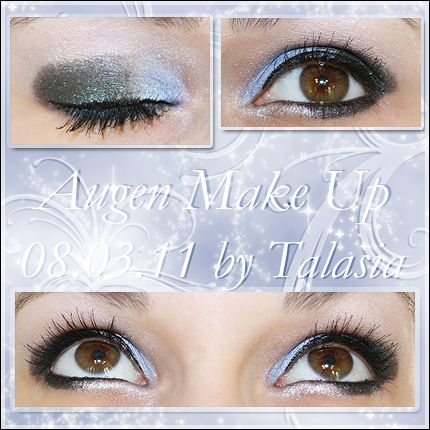 Eye Make Up - Datum: 08.03.11  http://talasia.blogspot.de/2011/04/amu-barry-m-dazzle-dust-nr98-petrol.html