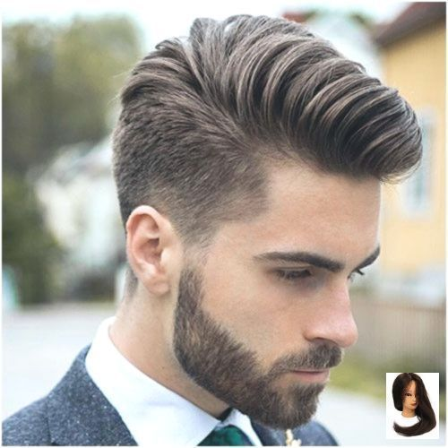 33 Beautiful Mens Hairstyles For Thick Hair Oval Face Hair Hairstyle For Beautiful Face Hair Dik Haar Kapsels Herenkapsels Hairstyles Haircuts