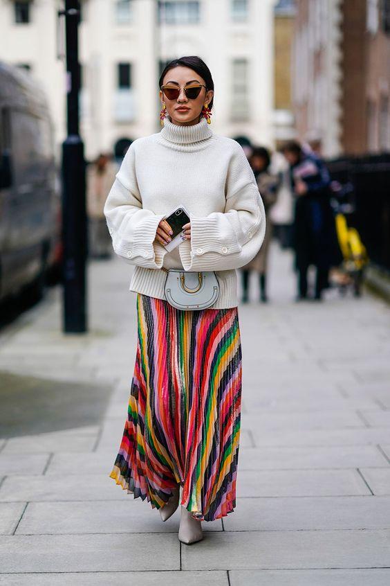 awesome 50 Идей, с чем носить макси юбку — Лучшие образы для зимы и лета