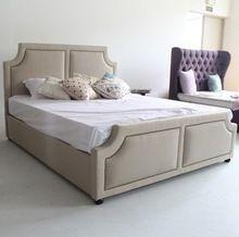 Moderno muebles para el hogar de diseño últimas blanco marcos de la cama doble en China(China (Mainland))
