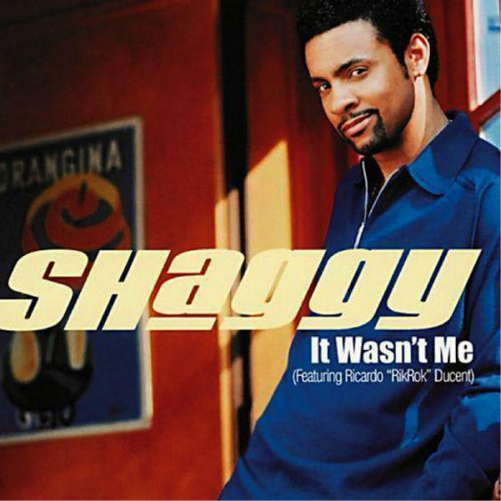 Shaggy, Rikrok – It Wasn't Me (single cover art)