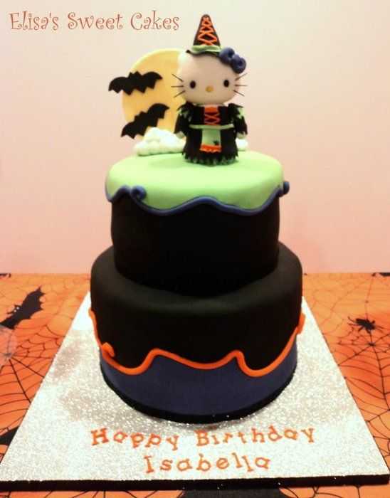 Halloween theme Hello Kitty Fall Decor/Halloween Party Ideas - hello kitty halloween decorations