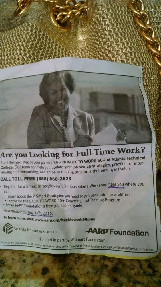 Local AARP Help job search