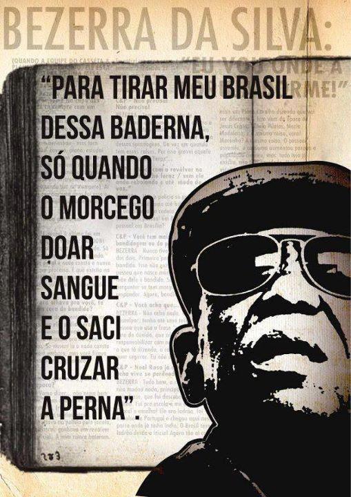 Bezerra da Silva, do além, comenta o julgamento do Mensalão