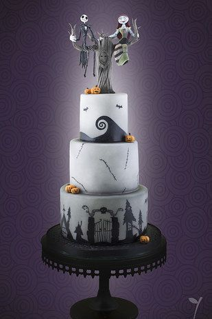 tim burton inspired wedding cakes 24 completely bewitching tim burton inspired wedding ideas 21007