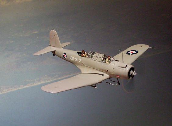 SB2U-3 Vindicator model