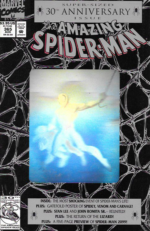"""Fathers and Sins"" ""The Saga of Spidey's Parents"" ""I Remember Gwen"" ""A Friend in Need"" ""Spider-Man: The First Thirty Years"" ""Spider-Man 2099"" _ Script by David Michelinie , Art And Cover Mark Bagley ,"