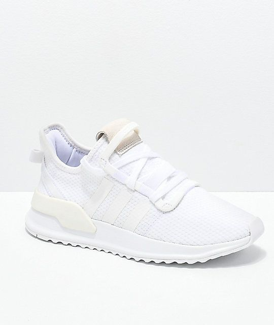 Discurso Solo haz Mujer joven  adidas U Path Run White Shoes | Zumiez | Adidas white shoes, Running shoes  outfits, Retro running shoes