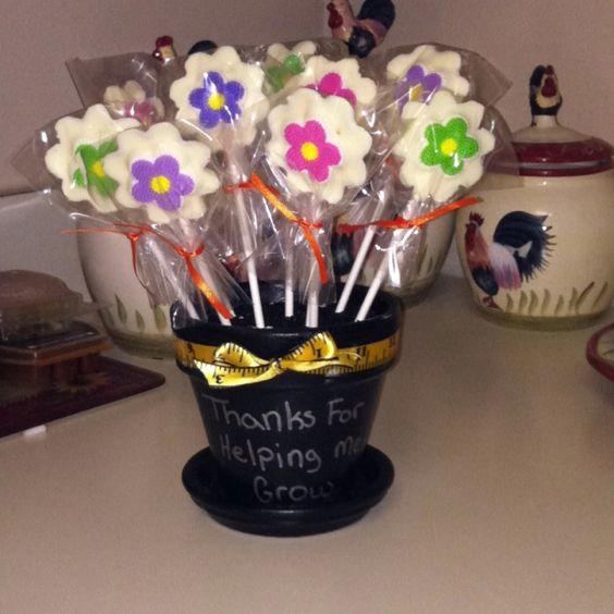 Teacher appreciation gift for Mason's teacher!