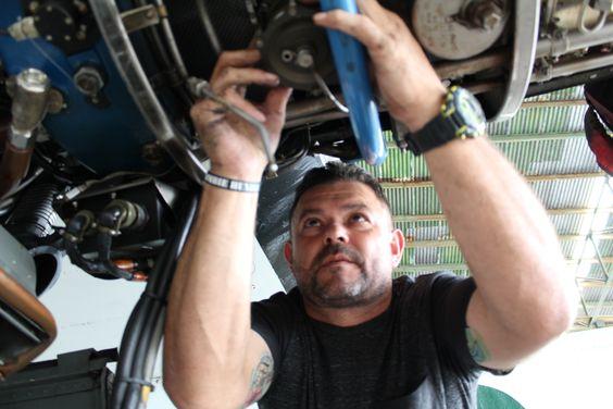 """La historia de """"Tato"""": de limpiar aviones a pieza clave para el vuelo"""