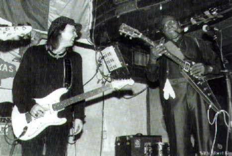 Stevie Ray Vaughan & Albert King <3