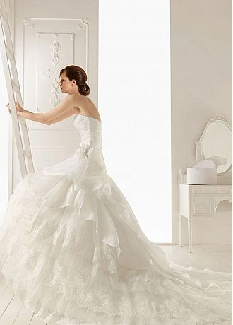 wedding dresses pearls elaborate style enchanted