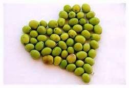 Cœur en olives