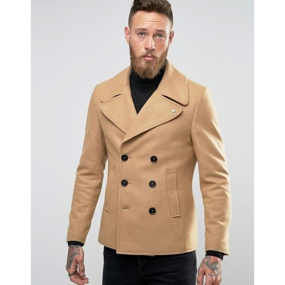 Tall Mens Pea Coat