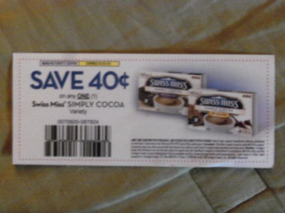 Coupon for Swiss Miss Simply Cocoa