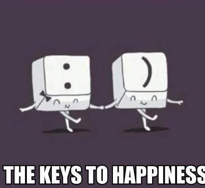 The Keys to Happiness :): Funny Things, Happines, That S Funny, So Cute, Heng Swee, Fun Stuff, Lim Heng, Funny Stuff, Random Stuff