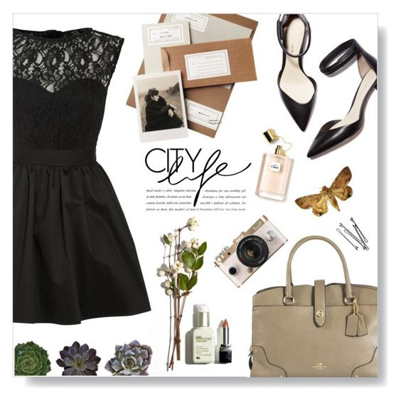 """""""City Life"""" by rohmanqueen ❤ liked on Polyvore featuring мода, Elise Ryan, Coach, 3.1 Phillip Lim, Urban Outfitters и BOBBY"""