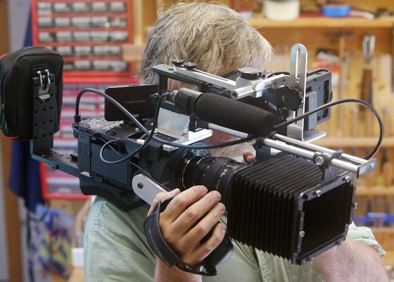 Prototype DIY Rig for the FS700: