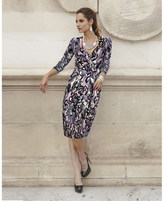 """""""Together"""" Together Print Jersey Dress at JD Williams from Marisota"""