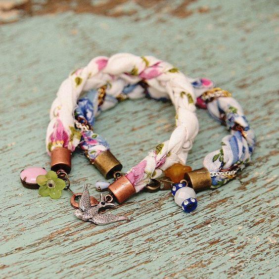 Nice fabric bracelets                                                       …