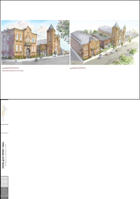 Saints Peter and Paul Catholic Church redevelopment