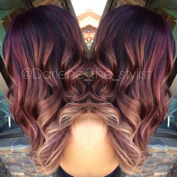 Balayage Hairstyle Hair Colour And Highlights  Hair Styles And Haircuts  Pi