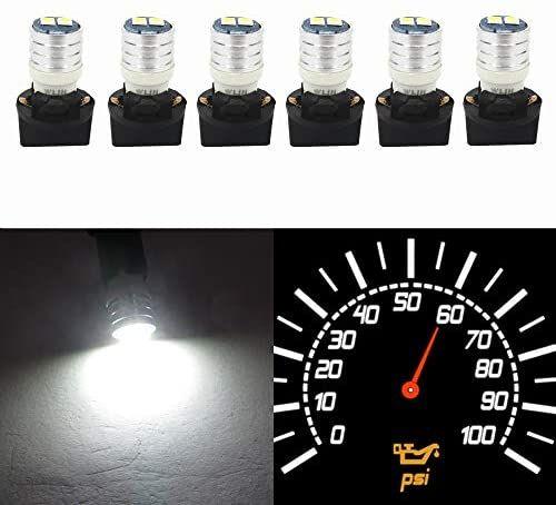 Wljh T10 Led Interior Lights Car Gauge Dashboard Dash Light Instrument Cluster Panel W5w 2825 194 Led Bulb Twist Socket Pc195 Pc194 Pc168 Super Bright 12v Whit In 2020 Dash Lights