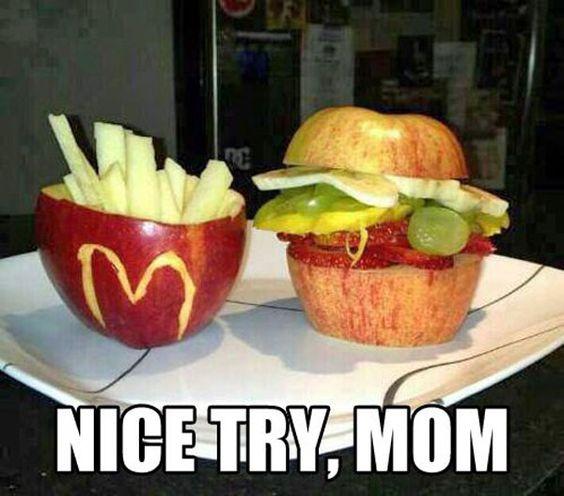 Don't get any ideas MOM:
