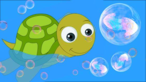 Nursery Rhyme, I Had a Little Turtle | Preschool Nursery Rhymes & Childr...