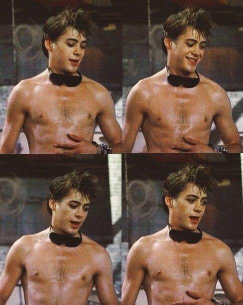 I love sweaty Downey! :p