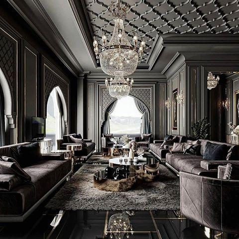 World Exclusive Homes Design Worldexclusivehomes Foto I Video V Instagram Dark Interior Design Luxury Interior Dream House Decor