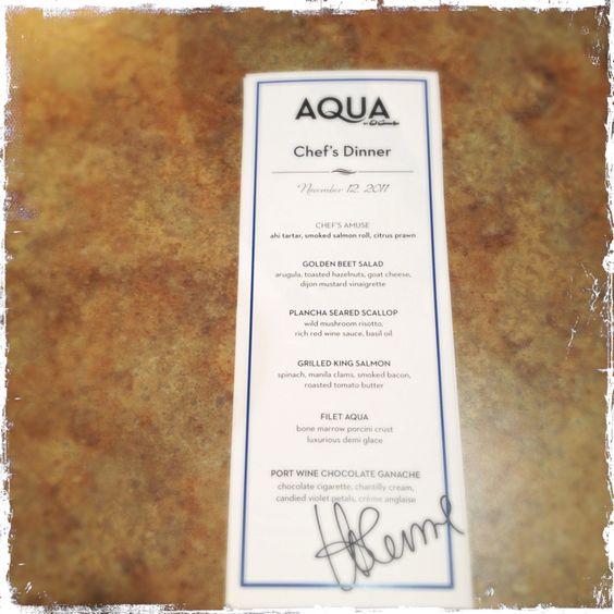 Aqua by El Gaucho Seattle