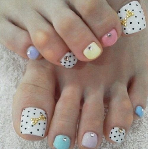 Toe Nail Art Design Ideas For Fall Winter: Cute Nails Designs Tumblr French Tipcute Winter Nail Ideas
