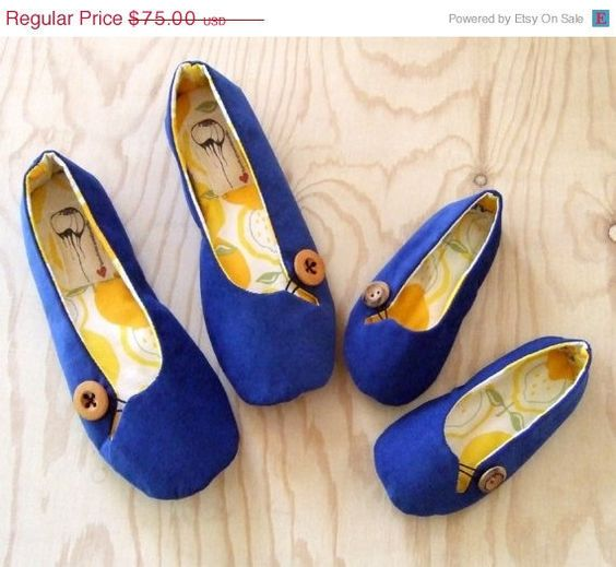 So cute !!!! Mommy and Me Flats. Made to order. How about Gramma and Me!