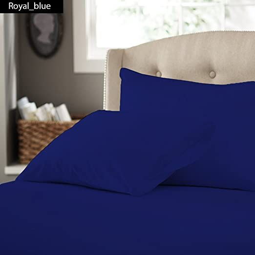 American Linen Premium Quality Luxury Queen 1 Piece Fitted Bottom Sheet Streunique Quality Hes Up To 20 Inches Dee Solid Duvet Fitted Bed Sheets Duvet Bedding 20 inch deep pocket queen sheets