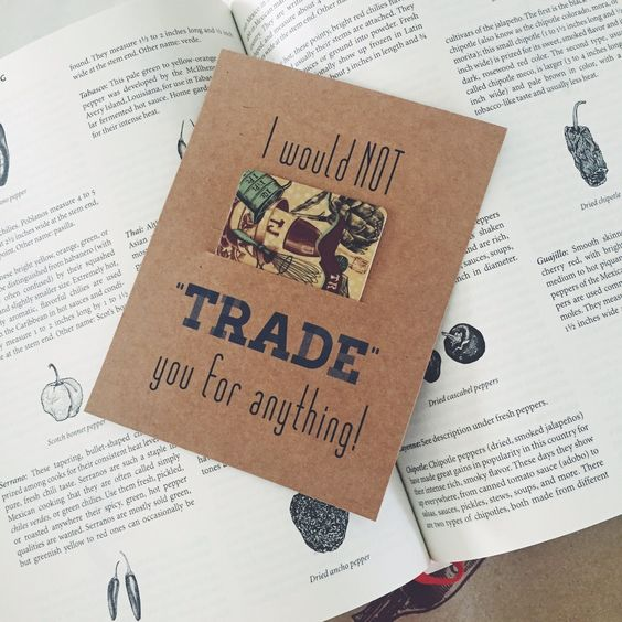 Teacher Gifts, Teacher Appreciation Gifts, Target, I would not trade you for anything- trader joes gift card. Free Printables from Page and Mason http://weddingsandevents.net/2016/05/15/easy-teacher-appreciation-gifts/