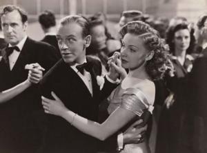 Fred Astaire and Joan Leslie from The Sky's the Limit, 1943