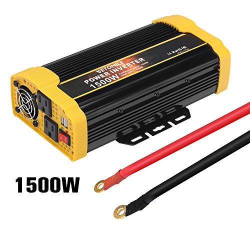 Multiple Output Convert Power Of Dc 12v To Ac 110v Provides 1500 Watts Continuous Power And 3000 Watts Instantaneous Power Inverters Car Usb Solar Panel Kits