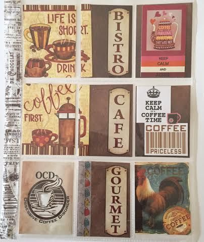 Pocket Letter, pals, snail mail, outgoing, coffee, design, love, create, atc's, atc