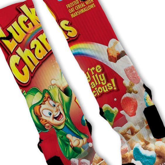 Lucky Charms Custom Nike Elite Socks