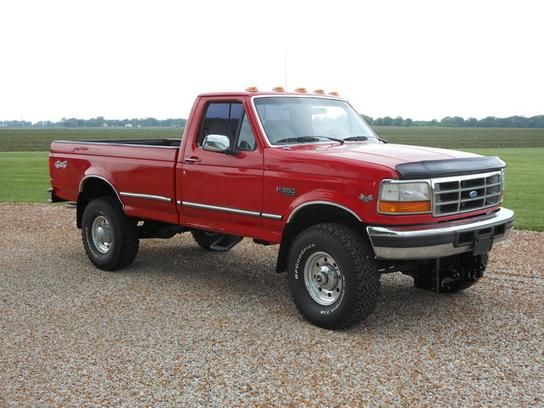 cars for sale 1996 ford f350 4x4 regular cab xlt in clinton il 61727 truck details. Black Bedroom Furniture Sets. Home Design Ideas