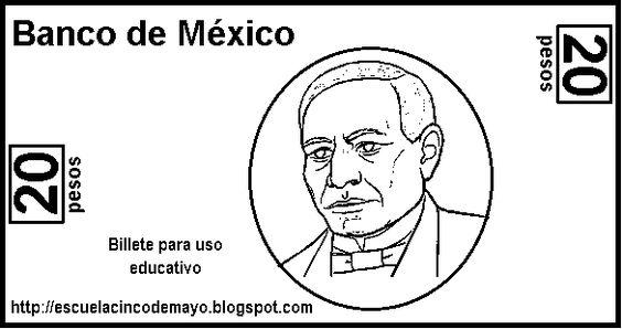 Printable Mexican Peso...