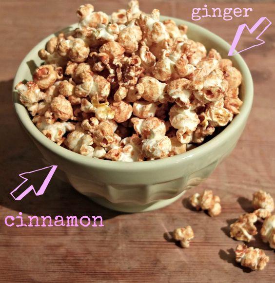 Sugar free popcorn