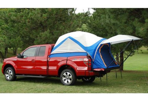 Camping Tents for Pickups   Ford Truck Accessory - OEM Ford F-Series Sportz Truck Camping Tent