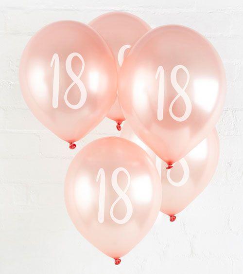 Pin Auf Deko Fur Den 18 Geburtstag